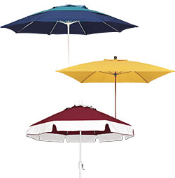 Fiberglass Ribbed Umbrellas