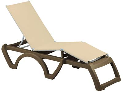 Calypso Sling Chaise Grosfillex