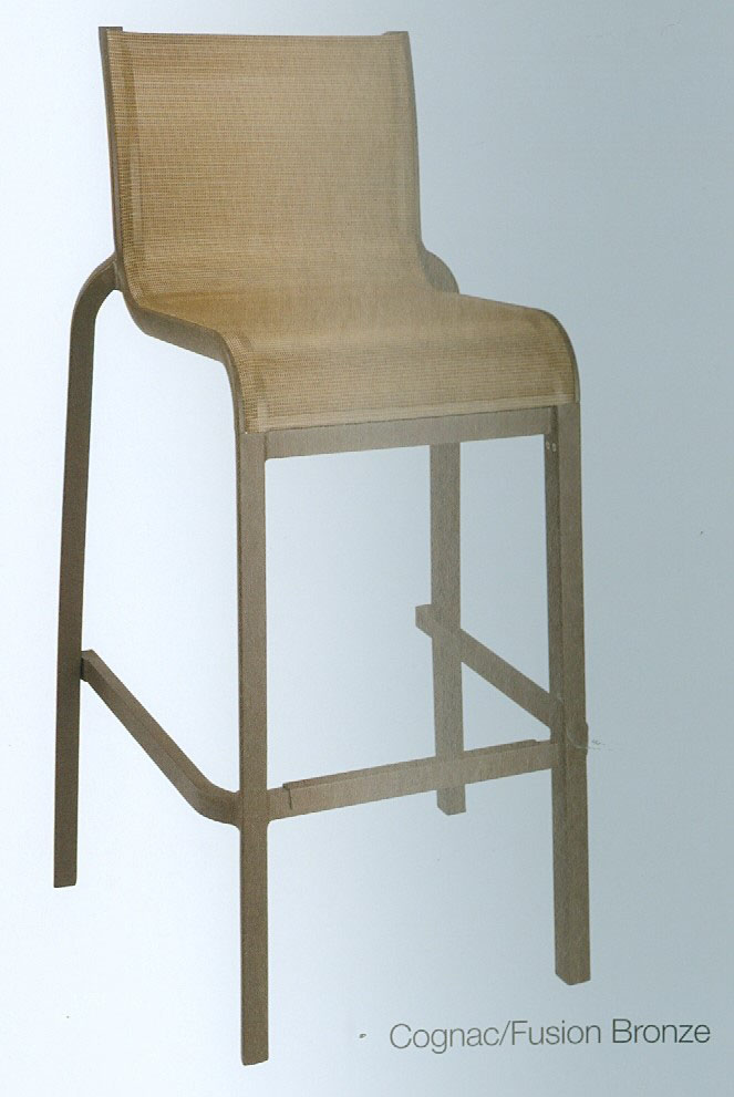 Grosfillex Sunset armless barchair barstool