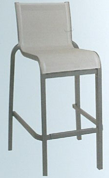 Sunset stackable armless barchair