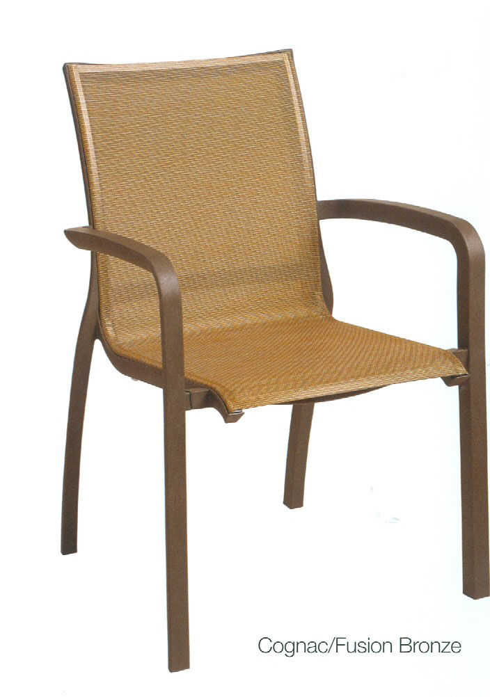 Grosfillex Sunset Sling Chair