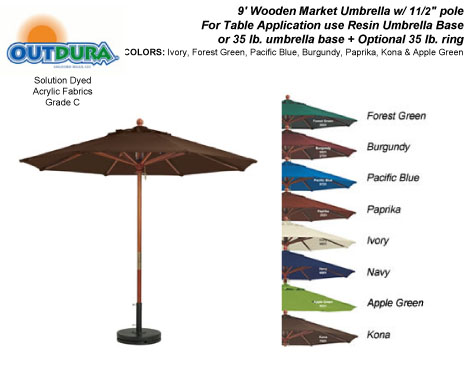 Umbrella Bottom Pole - Compare Prices, Reviews and Buy at Nextag