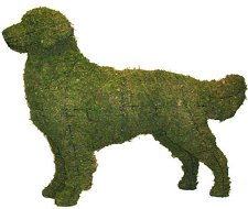 Jack Russell Lit Topiary