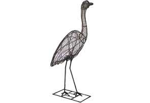 Heron Wire Topiary
