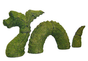 Nessie Dragon Moss Topiary