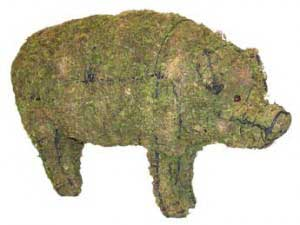 Pig Moss Topiary