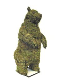 Standing Bear Moss Topiary