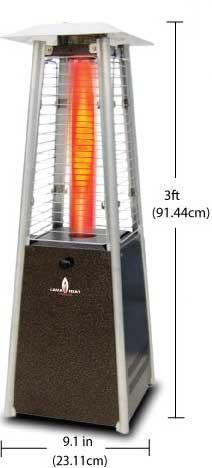 Lava Heat Mini table Top radient heater
