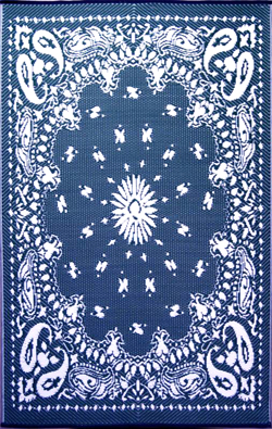 Bandana Mad Mat in blue