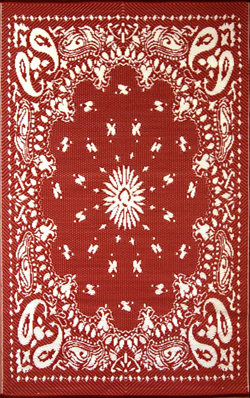 Red Mad Mat Bandana