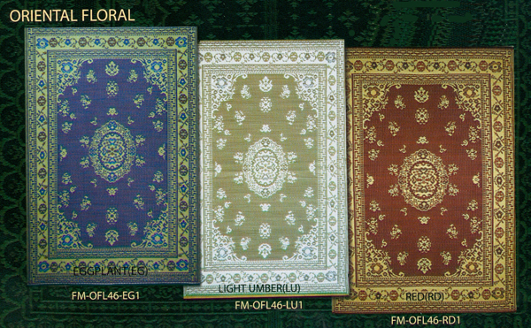 Oriental Floral Mad Mats