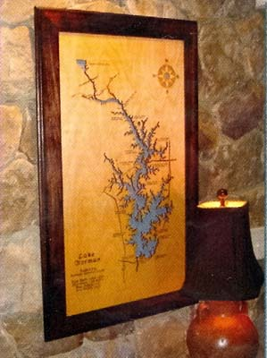 lake wall hanging