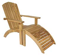 Three Birds teak chair