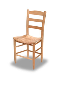 Scoop Slat Chair
