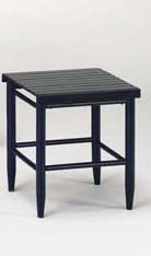 Slat Top side table